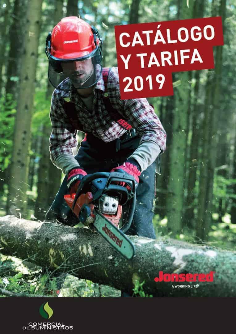 Catalogo tarifa jonsered 2019