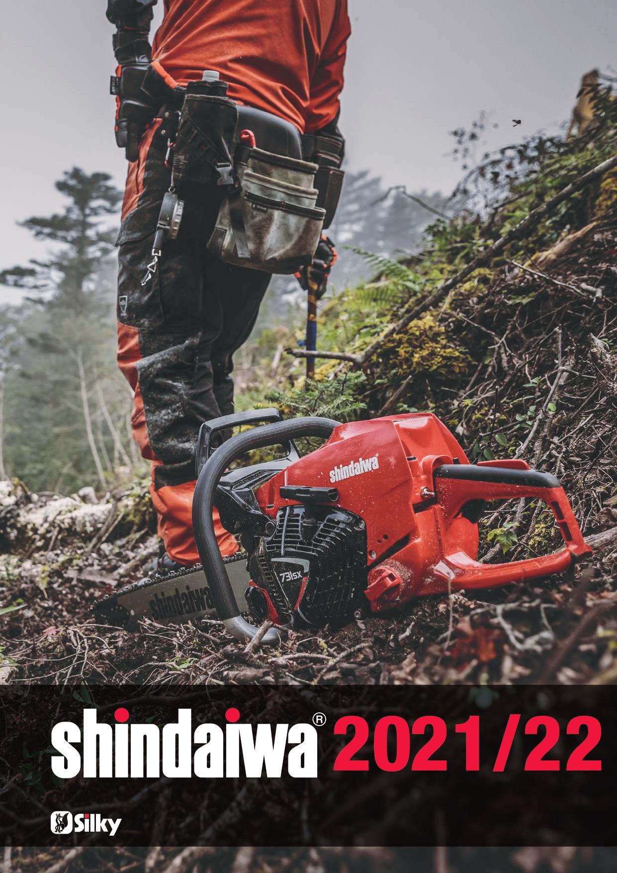 Catalogo Shindaiwa 2021/22