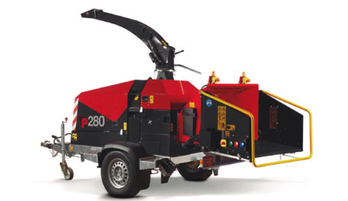 Astilladora TP TP 280 MOBILE